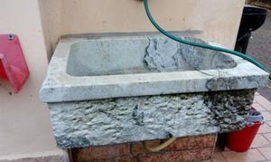 Lavabo in pietra