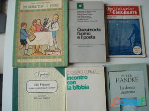 Libri di storia, di poesia,almanacchi fotografare,