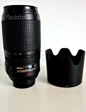 Nikon d300 con obiettivi