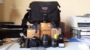 Nikon dvr+sb600+borsa