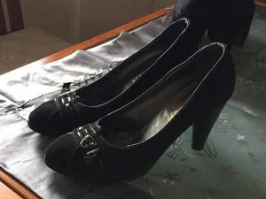 Scarpe Made in italy taglia 37 rifinitissime di camoscio