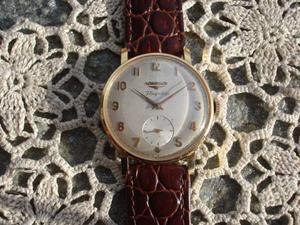 Spettacolare orologio longines pl oro + scatola e