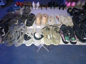 Stok scarpe usate e nuove donna uomo ragazzo/bambi