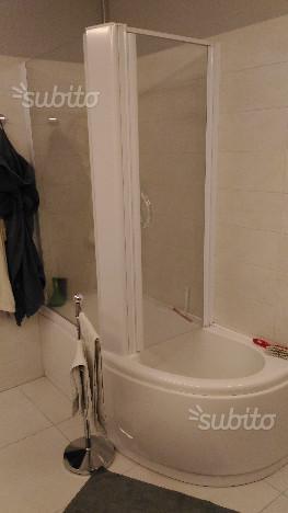 "Vasca da bagno combinata doccia ""Glass """