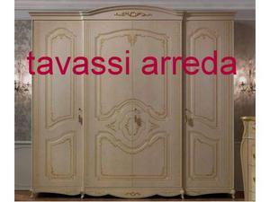 Armadio Classico 4 Ante.Armadio Classico Corpo Avanzato 3p Arredo Posot Class