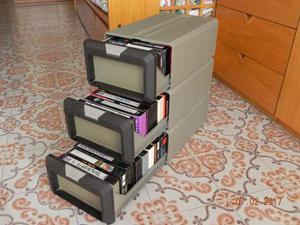 CONTENITORI POSSO per nastri VHS e nastri VHS
