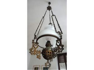 Lampadario antico stile Liberty fine 800