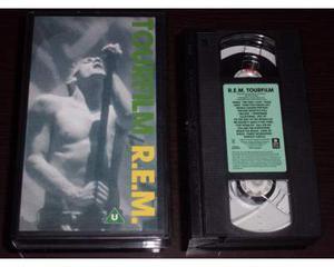 R.E.M. - Tour Film - Live VHS .