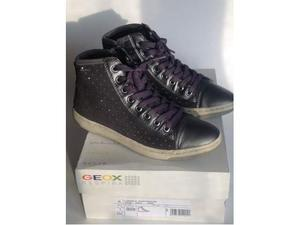 Scarpe GEOX bambina n. 38 grigio usate