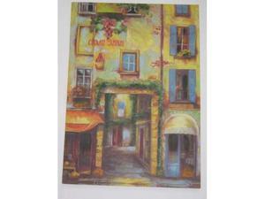 Stampa su canvas ritoccata ad olio 50 x 70