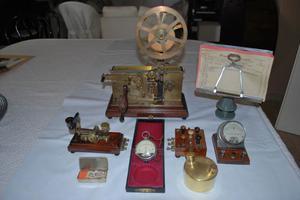 originale antico telegrafo