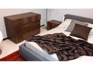 Gruppo letto in legno termocotto