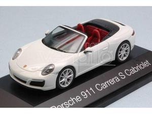 Herpa HP PORSCHE 911 CARRERA S CABRIOLET  WHITE