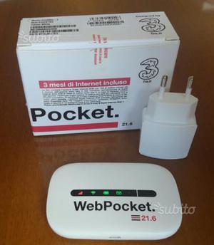 Modem wifi web pocket 3
