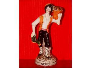 Statua raccoglitore di fichi dâ€(TM)india.