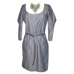 blue jean dress of diesel