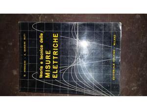 Libro teoria e tecnica delle misure elettriche