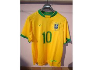 Maglia Calcio Brasile n° 10nuova mai usata