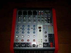 Mixer proel m 602 fx