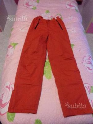 Pantalone da neve ragazzo 14 anni