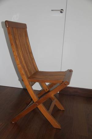 Sedie pieghevoli in legno massello robustissime posot class for Sedie in legno massello