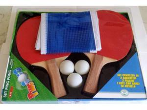 Set ping pong nuovo, mai usato