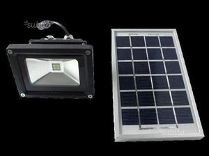 Faretto led con pannello solare 2 watt 5v