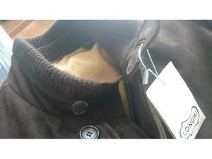 LONGHI cappotto nabuk fodera cashmere tg.56