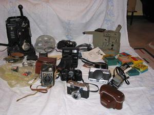 Lotto Macchine Fotografiche Antiche