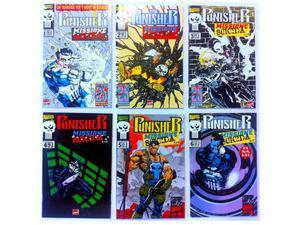 Punisher missione suicida - serie completa 1/6 - marvel