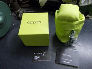 Scatola e controscatola orologio citizen