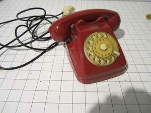 Telefono BiGrigio Unificato Color Rosso