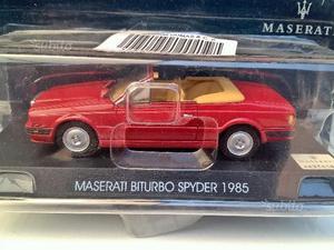 1/43 lotto Maserati biturbo karif bora merak