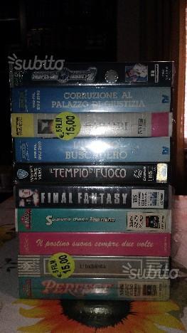 25 Videocassette FILM (NUOVE)