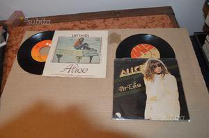Alice visconti dischi 45 giri rari
