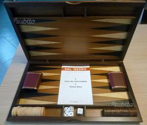 Cofanetto Backgammon Dal Negro