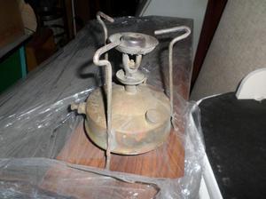 Fornello in ottone primi 900 a petrolio con sigla Fert n 1