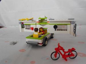 LEGO City Camper e Technic 4x4, usati