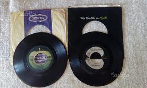 Lotto di 2 dischi 45 giri Beatles anni