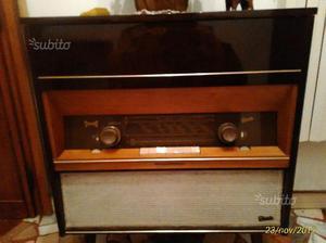 Radio giradischi anni  originale graetz