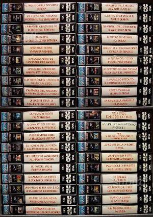 STAR TREK serie classica completa VHS
