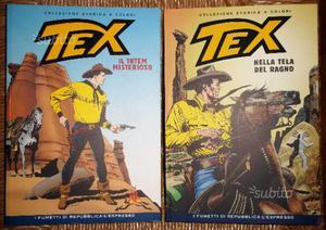 TEX a colori collezione  da EDICOLA perfet