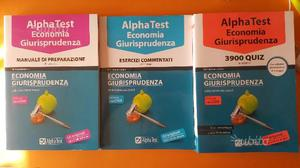 AlphaTest ECONOMIA-GIURISPRUDENZA (Kit Completo)