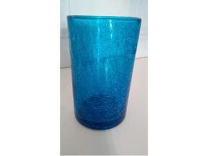 Bicchieri blu retinati per aperitivo/cocktail