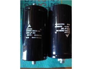 Condensatori elettrolitici EPCOS  mF 500 V.d.c.