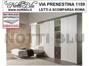 Letti a Scomparsa _Letto con parete attrezzata Materasso