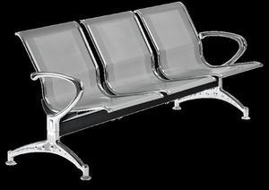 Panca per sala d'attesa in acciaio prezzo euro 244