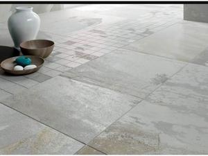 Stok piastrelle effetto pietra colore grigio posot class - Piastrelle esterno stock ...