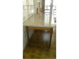 Tavolo da cucina allungabile+4 sedie della o&g-tutto