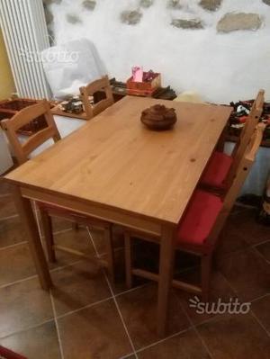 Tavolo e 4 sedie ikea JOKKMOKK